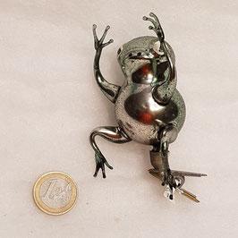 Frosch mit Zwicker