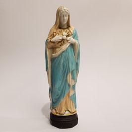 Herz-Madonna, Bisquit Porzellan (Nr, 2)