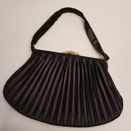 Tasche, schwarzer Stoff