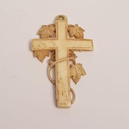 Kreuz, Elfenbein, alt