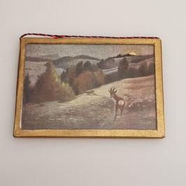 Puppenstuben-Bild, doppelseitig aufhängbar (Nr. 16)