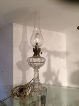Petroleumlampe, Glas