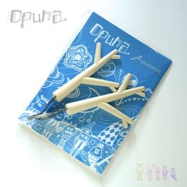 opuna spoon&fork set(スプーンx1 フォークx1・袋入)