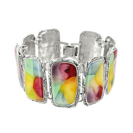 Pastell-Armband  NUAGES ARGENT MULTI