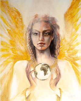 Leinwanddruck - Engel des Aufbruchs