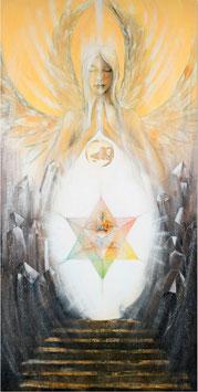 LEINWANDDRUCK - Lichttor zum inneren Christus