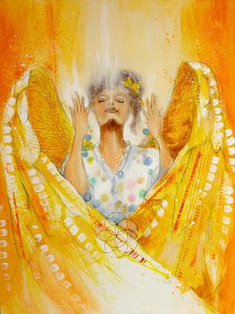 Engelbild - Engel der Kreativität / Lichtvolle Ziele
