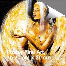 Poster - Erzengel Haniel (a) - Engel der Fülle