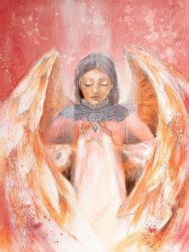 Engelbild - Schutzengel / Licht der Liebe