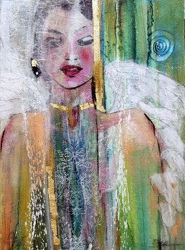 Postkarte Engel des Morgens