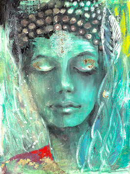 Grüne Tara / weiblicher Buddha der Befreiung