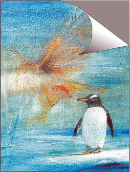POSTER -  Die Vision eines Pinguins