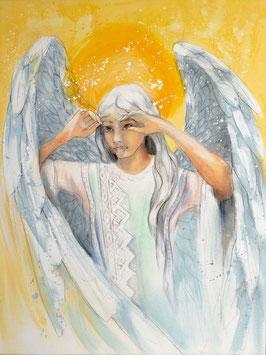 Engelbild - Engel der Stabilität / Weitblick