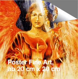 Poster Erzengel Jophiel (a) - Engel der Sinne