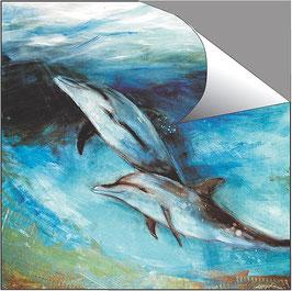 POSTER -  Delphine 2 / Element Wasser