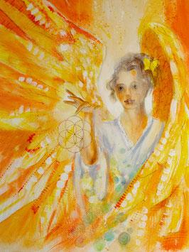 Engelbild - Engel der Kreativität / Fokussierung