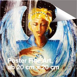 Poster - Erzengel Zadkiel (a) - Engel der Güte