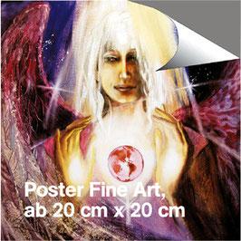 Poster - Erzengel Raphael (a) - Engel der Erkenntnis