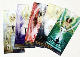Seraphim-Engel Lichttore, Postkartenset