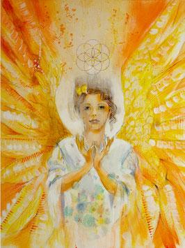 Engelbild - Engel der Kreativität / Inspiration