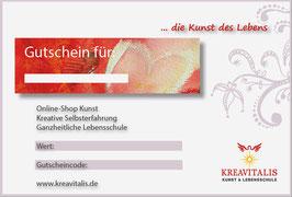 Geschenk-Gutschein online kaufen und selbst ausdrucken!