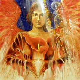 Leinwanddruck Erzengel Jophiel (a) - Engel der Sinne