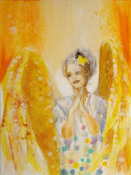 Engelbild - Engel der Kreativität / Ermutigung