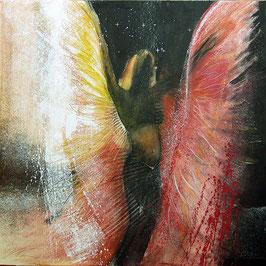 Original - Tanzender Engel Leinwandbild