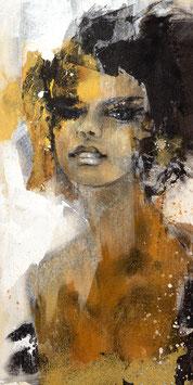 Leinwanddruck - Dolve Vita / Frauenportrait