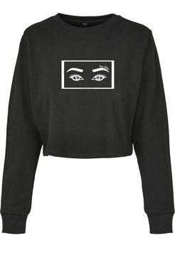 Skull Eye Cropsweater