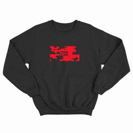 Red Camo Boxlogo Sweater