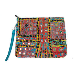 "Boho Banjara XL - Clutch  ""wild heart"""