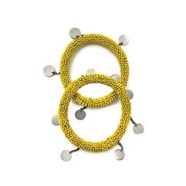 Maasai dangle bangle • yellow