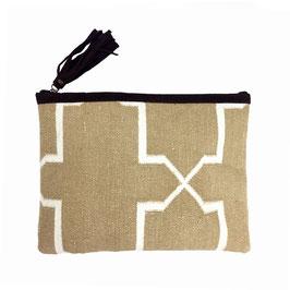 "Handcrafted Ipad Bag "" BROWNSUGAR"""