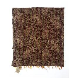 "Silk Kantha Scarf/Fabric  ""ALAIKA"""