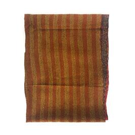 "Silk Kantha Scarf/Fabric  ""KIRA"""
