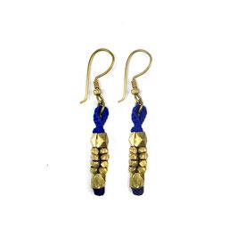 """DOKRA Earrings  """"Blue"""""""