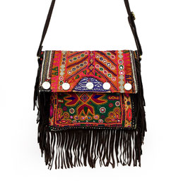 "FRINGE BANJARA ""CHOCOLATE"""