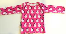 t-Shirt langarm Jersey Squirrel pink