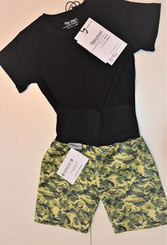 Shorts kurz  Camouflage grün