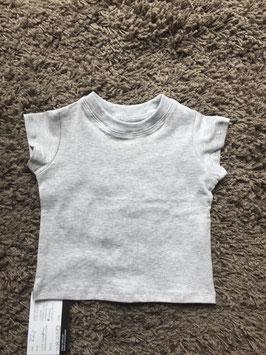 T-Shirt kurzarm Jungs grau meliert