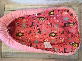 Babynest rosa Rosa Bär-Mädchen