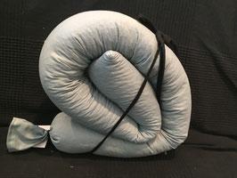Puckschnecke Dinkelspelz  grau/blau