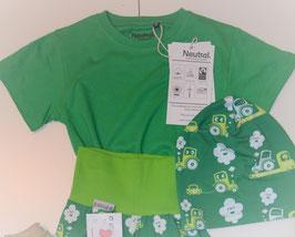 T-Shirt kurzarm grün
