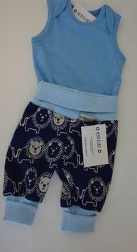 Pumphose Jersey Löwe blau