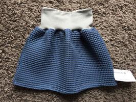 Waffelrock dunkelblau
