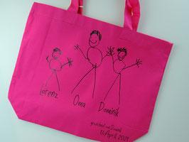 personalisierter Canvas Shopper