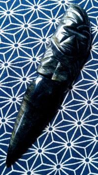 オプシディアン/黒曜石ゴールド・シラー(魔法杖、ワンド、短剣)