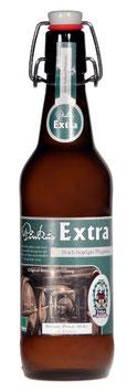 Pinkus Extra in der 0,5 Ltr. Flasche