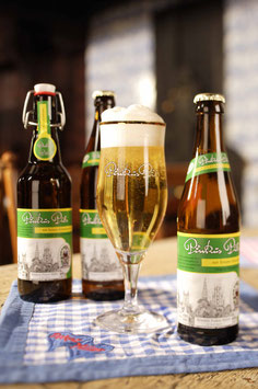 Pinkus Pils, das Pils aus Münsters Traditionsbrauerei, 0,33 l Flasche